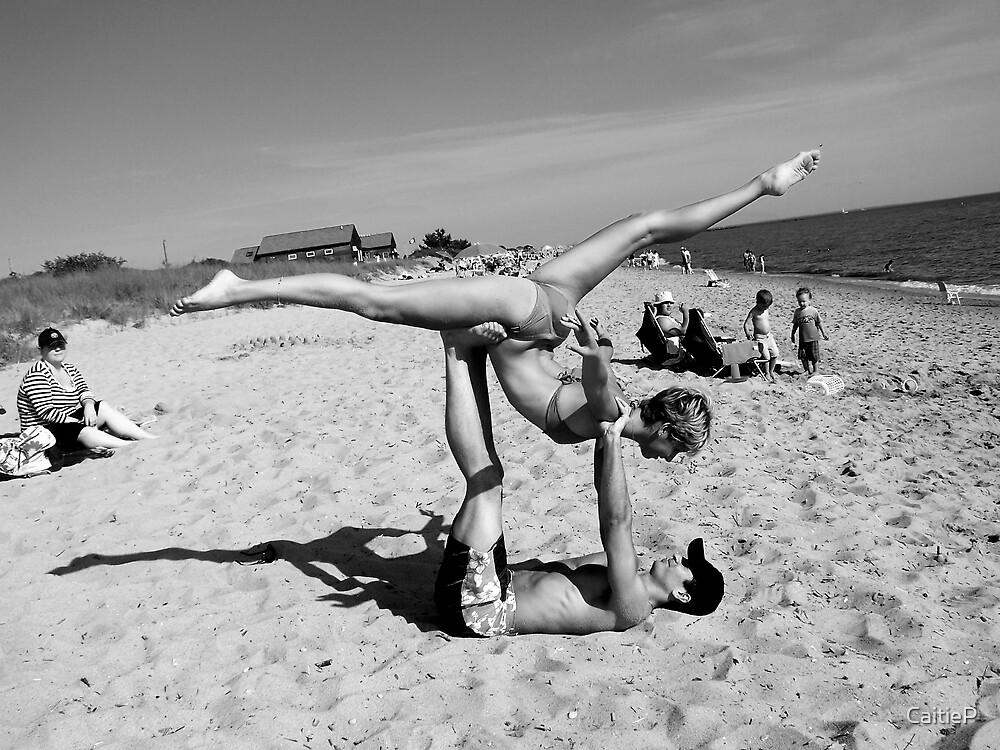 Beach Ballet by CaitieP