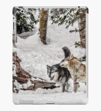 Wolf Hide and Seek iPad Case/Skin