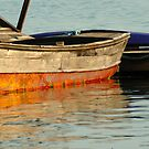 Boat, Maine Harbor by fauselr