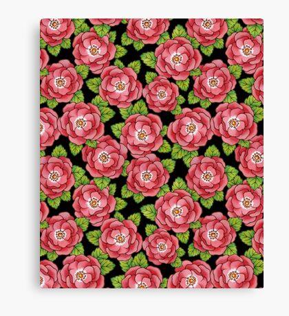 Alpen Rose Design Canvas Print
