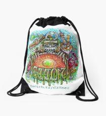 GIToez On The Road Drawstring Bag