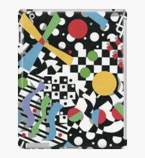 Ticker Tape Geometric Design iPad Case/Skin
