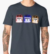 VW Kombi - Red Blue Orange Men's Premium T-Shirt