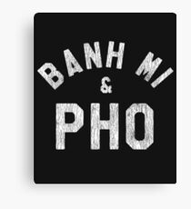 Banh Mi & Pho Shirt for Vietnamese Food Lovers Canvas Print