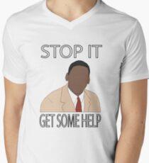 Stop It. Get Some Help. Men's V-Neck T-Shirt