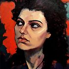 Portrait of Natalie by Roz McQuillan