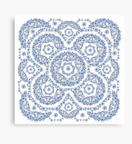 Blue Rhapsody II Canvas Print
