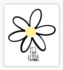 Little Things Flower Sticker