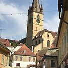 Sibiu old town  by Farah McLennan