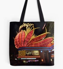 Las Vegas, The Flamingo at night. Tote Bag