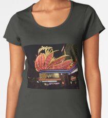 Las Vegas, The Flamingo at night. Women's Premium T-Shirt