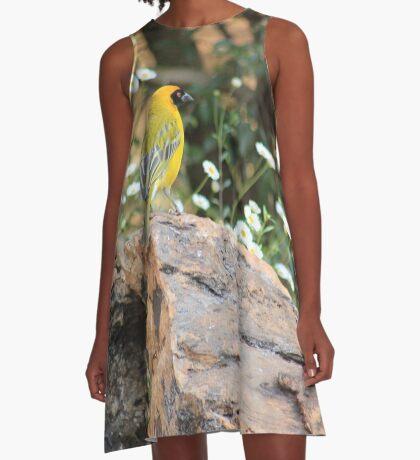 I walk with ... beauty A-Line Dress