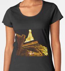 Las Vegas Street view at night Women's Premium T-Shirt