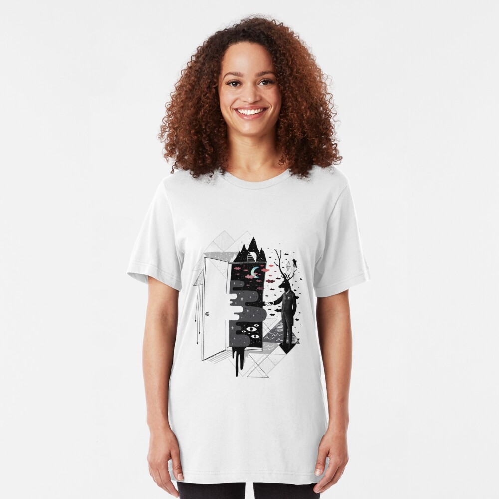 Take it or dream it Slim Fit T-Shirt