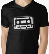 casette tape Mens V-Neck T-Shirt