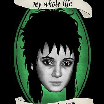 Beetlejuice - Lydia: My Whole Life es un cuarto oscuro de ohlovelypop