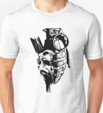 Just the thought of war makes me... Unisex T-Shirt