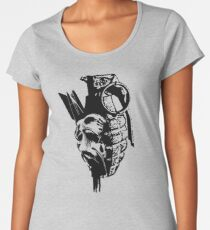 Just the thought of war makes me... Women's Premium T-Shirt