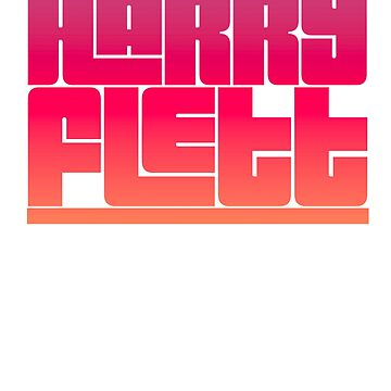 Harry Flett logo by Bydandy