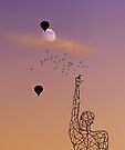 No one is free, even the birds are chained to the sky.   by Alex Preiss