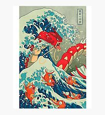 Gyarados Red Cell Phone Case Photographic Print