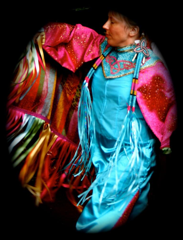 Ribbon dancer by Amanda Gazidis