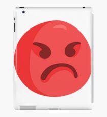 Angry Emoji iPad Case/Skin