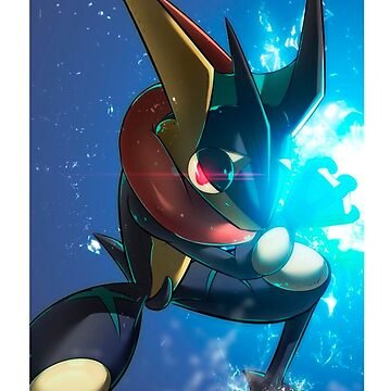 Greninja Pokemon X&Y Cell Phone Case by SrWhitePS
