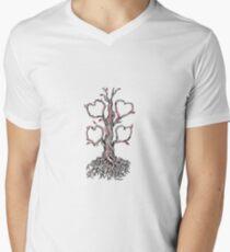 Gnarly Oak Tree Heart Tattoo T-Shirt