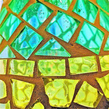 Glass Mosaic by figureofpeach