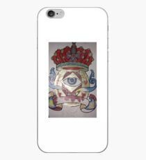 Wicked Eye Tattoo Design  iPhone Case
