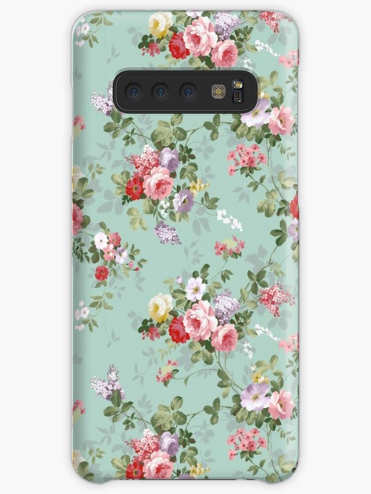Elegantes rosa Blumenmuster der schönen Rosen von Kicksdesign