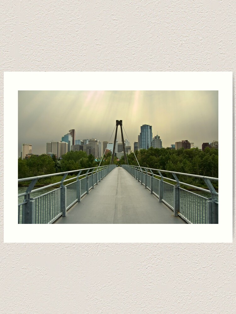 Alternate view of Calgary Skyline Art Print