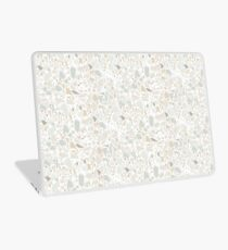 Weißer Terrazzo | Textur Laptop Folie