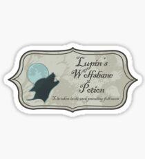 Lupin's Wolfsbane Potion Sticker