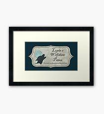 Lupin's Wolfsbane Potion Framed Print