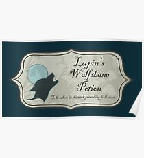 Lupin's Wolfsbane Potion Poster