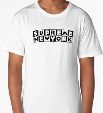 Supreme x Cartoon Network T-Shirt Design *RARE* Long T-Shirt