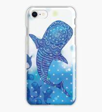 Marokintana - Whale Shark I iPhone Case/Skin