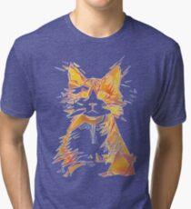 sCATtered Tri-blend T-Shirt