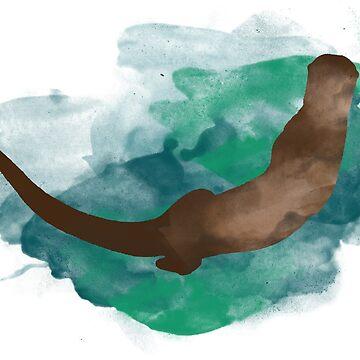 Otter by annahannah