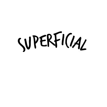 superficial in the wild by wrdso