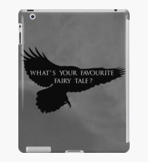 What's your favourite fairy tale? iPad Case/Skin