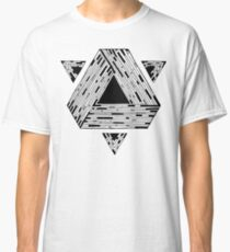 Psychedelic geometry Classic T-Shirt