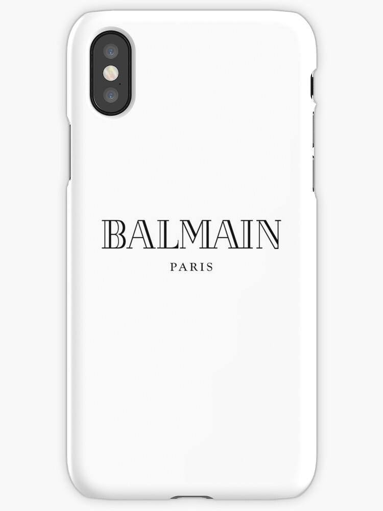 coque iphone 7 balmain