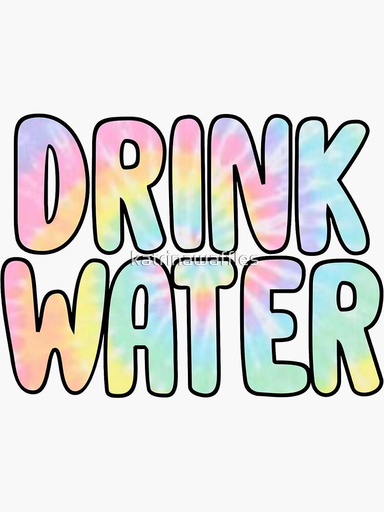 Wasser trinken von katrinawaffles