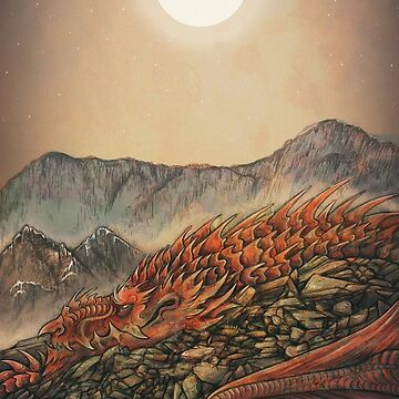 Y Ddraig Goch  - The Red Dragon by cjellis