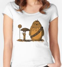 My Neighbour Chewie II Women's Fitted Scoop T-Shirt