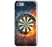 iPHONE DARTS FIRE & ICE iPhone Case/Skin
