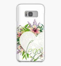 Love Vegan Samsung Galaxy Case/Skin